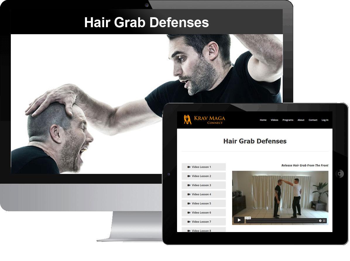 Hair Grab Defenses
