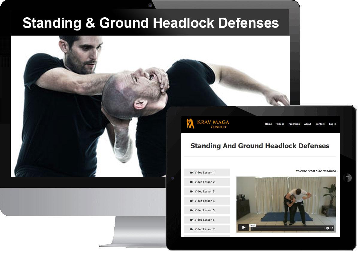 Standing & Ground Headlock Defenses