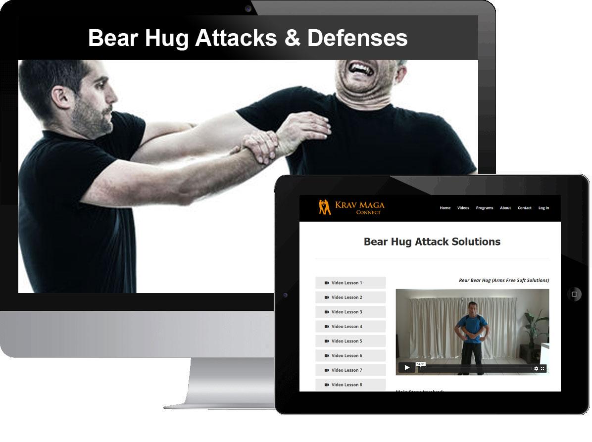 Bear Hug Attacks & Defenses